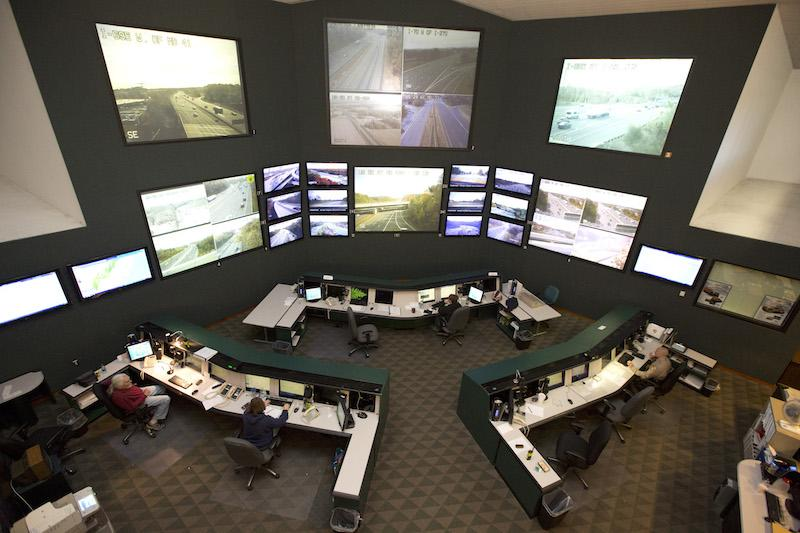 Maryland traffic management center