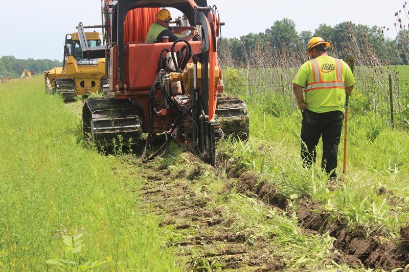 Plowing along smart corridor