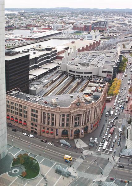 Boston's South Station.