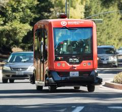 Calif. tests first fully autonomous shuttle on state roads